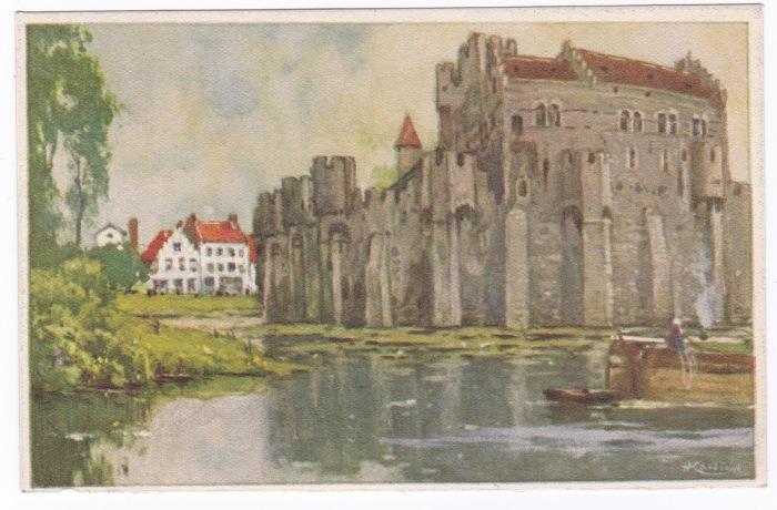 Belgian Scenes, Chateau des Comtes, Ghent